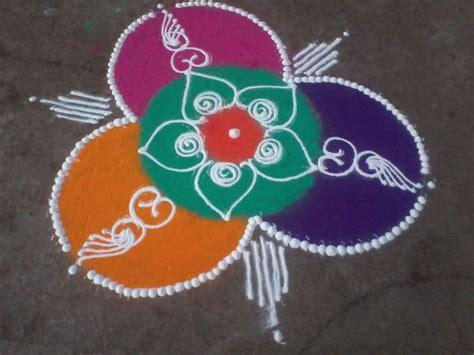 simple pattern of rangoli easy and simple sanskarbharti rangoli design sanskar
