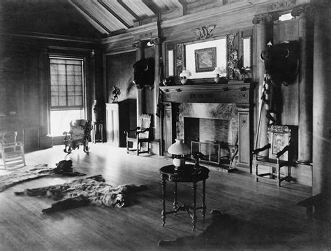 Sagamore Room by Trophy Room At Sagamore Hill Summer Photograph By Everett