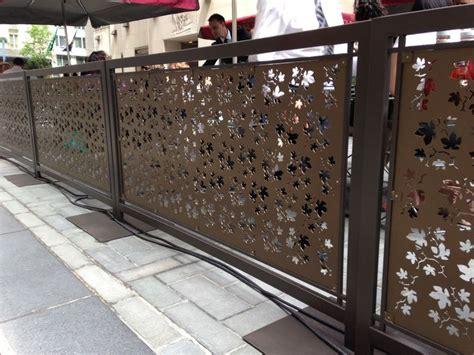 nauhuri restaurant patio barriers neuesten design