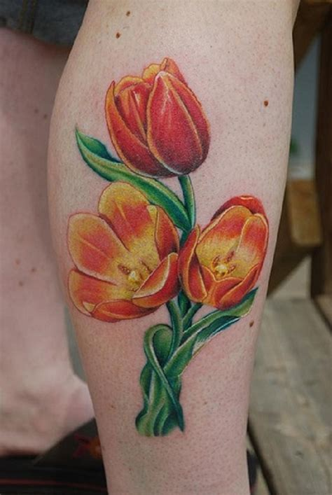 tulips tattoo 32 best tulip flowers tattoos