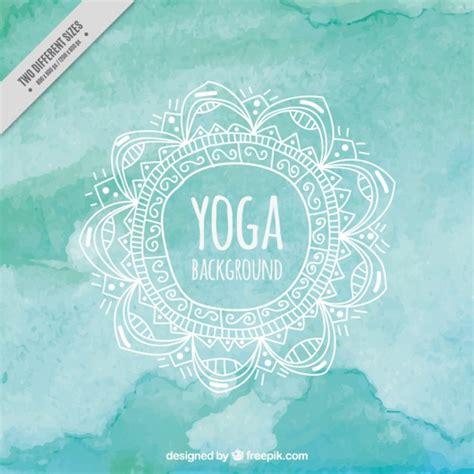 imagenes de fondo yoga turquesa fondo de la acuarela de la yoga descargar