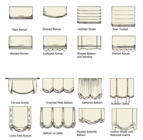 Type Of L Shades by Types Of Shades Blinds For Home Office Hotel Villa