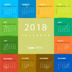 Calendar 2018 Design Ideas 10 Printable 2018 Wall Desk Pocket Calendar Designs