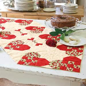 Table adorable valentine of patterns quilted runners quilt the runner