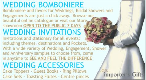 wedding invitations woodbridge importers gifts wedding bomboniere invitations