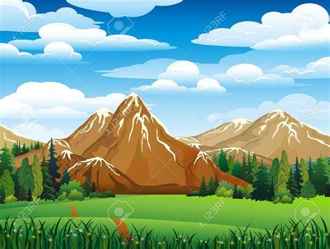 mountain clipart mountain meadow clipart clipground