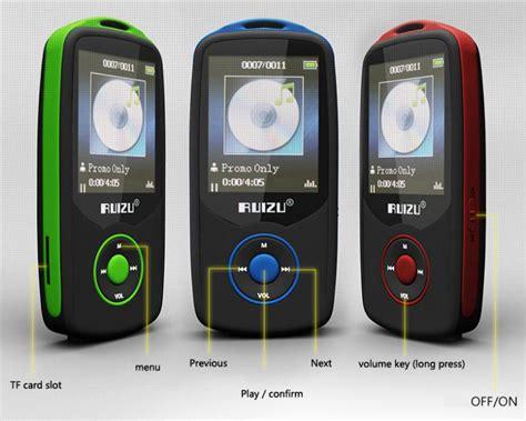 Ruizu X06 Digital Audio Mp3 Mp4 Player High Quality Lossless Sq 2015 new original ruizu x06 bluetooth sports mp3 player with 4gb 1 8inch screen 100hours