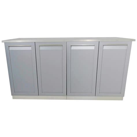outdoor kitchen stainless steel cabinet doors 4 life outdoor 3 piece 66 in x 36 in x 24 in stainless