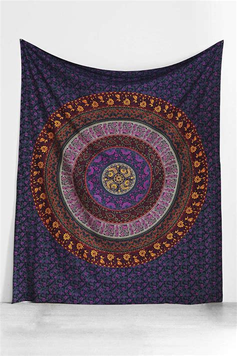 andrea russett room bedding psychedelic tapestry college room wall hanging