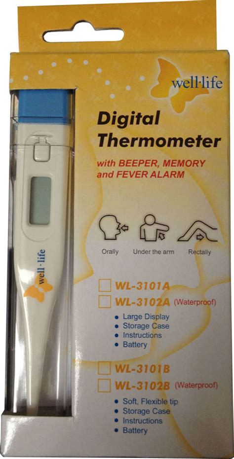 Termometer Digital General Care digital thermometer diagdt 163 2 50 complete healthcare