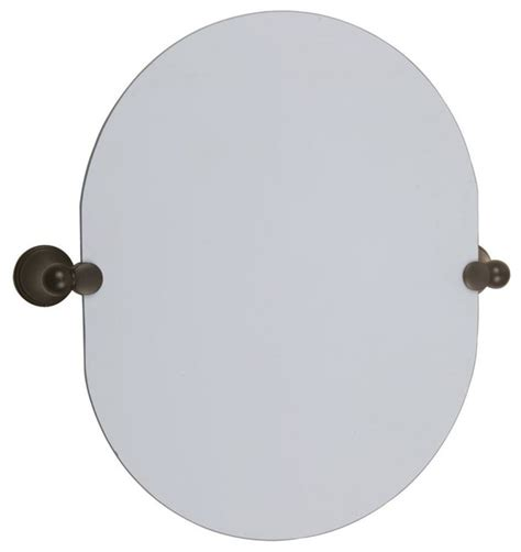 oval pivot bathroom mirror oval pivot mirror in oil rubbed bronze finish contemporary bathroom mirrors by shopladder