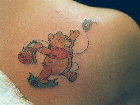 pooh bear tattoo designs daily photo arts pooh tattoos