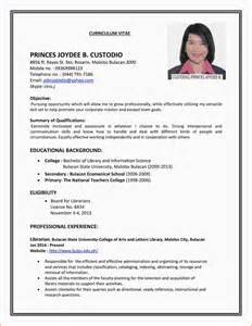 Time Resume Exles by 8 Resume For Part Time College Student Paradochart