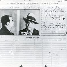 Al Capone Criminal Record Al Capone In Contrast To And In New York On