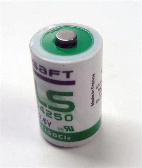 Saft Lithium Ls14250 36v Plc Battery Saft Ls14250 1 2aa 3 6v Plc Industr End 10 1 2017 10 15 Am