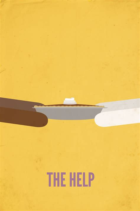 the thing minimalist poster the help minimalist poster design graphic design