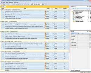 customer service database template customer management checklists to do lists for customer