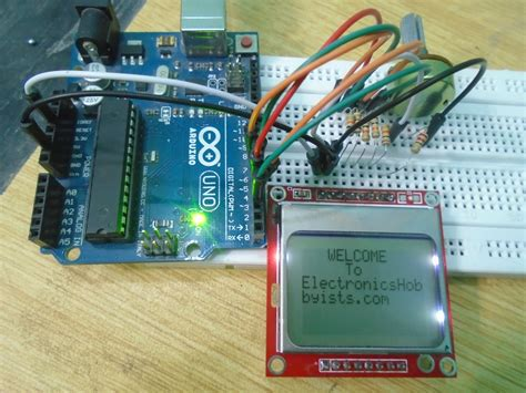 arduino tutorial nokia 5110 interfacing nokia 5110 lcd with arduino nokia 5110