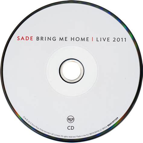 car 225 tula cd de bring me home live 2011 de sade caratulas