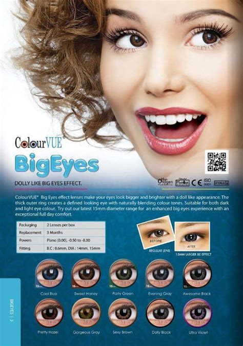 Softlens Colourvue Big Dolly Black colourvue big contact lens malaysia