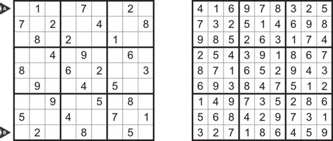printable sudoku puzzle with answer key sudoku types for month march 2013