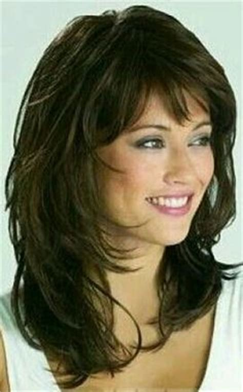 medium length haircuts with lots of layers gallery shoulder length hairstyles with bangs over 50