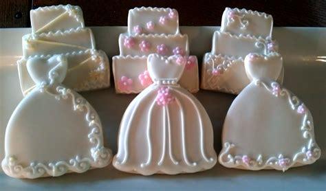 Bridal Shower Favors Cookies by Wedding Cookies On Decorated Sugar Cookies