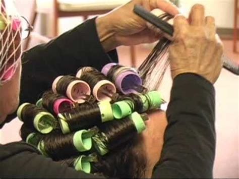 stories of men setting men in curlers preview clip randy s day at the beauty salon youtube