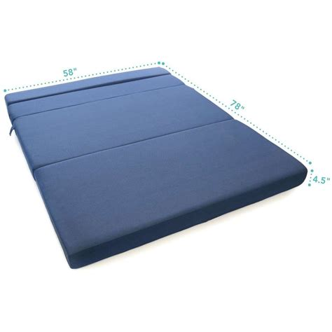 matratze klappbar tri fold foam folding mattress sofa bed dudeiwantthat