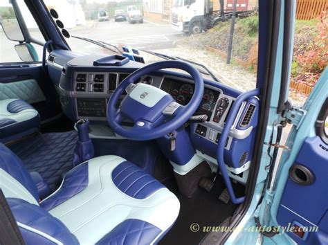 Auto Upholstery Foam Volvo Fh 12 Custom Design Leather Interior A Amp T Autostyle