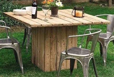 13 Perfect Wooden Pallet Dining Table Ideas Pallet Wood Pallet Patio Table