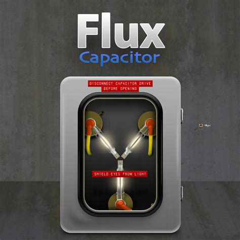 the flux capacitor is fluxing flux capacitor time machine by cavemanmac on deviantart