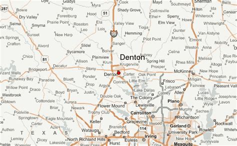 map denton texas gu 237 a urbano de denton