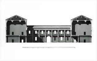 Building Plan Drawing villa serego wikipedia