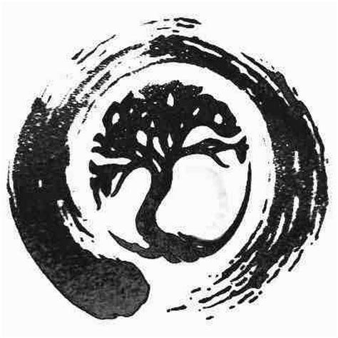 circle tattoo design 21 zen tree circle tattoos ideas
