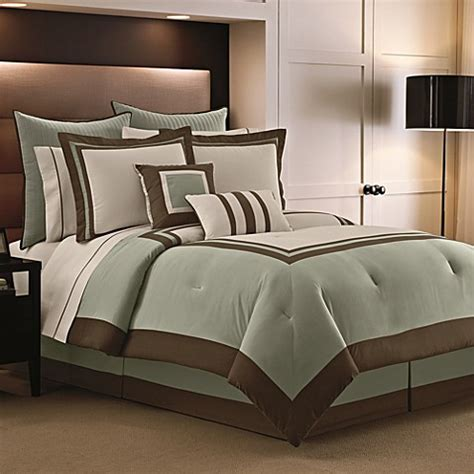 Hotel Bed Sets Luxe Hotel 9 12 Comforter Set Bed Bath