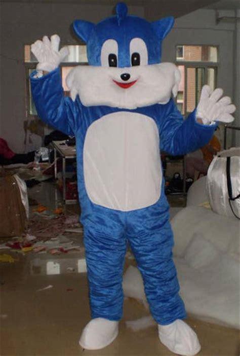 blue cat cartoon costumeid product details