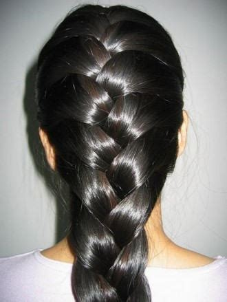 big french braids big french braid tail hairstyle