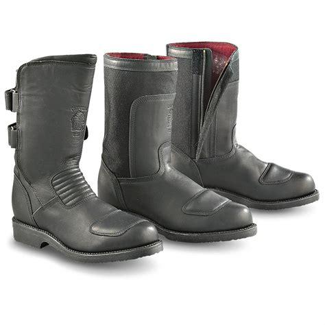 motorcycle biker boots s chippewa 174 biker boots black 136816 motorcycle