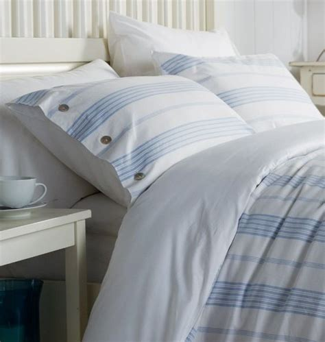 blue and white striped bedding 30 printed bedding sets to refresh your bedroom digsdigs