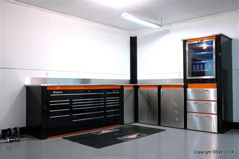garage toolbox garage cabinets with built in snap on toolbox dsw