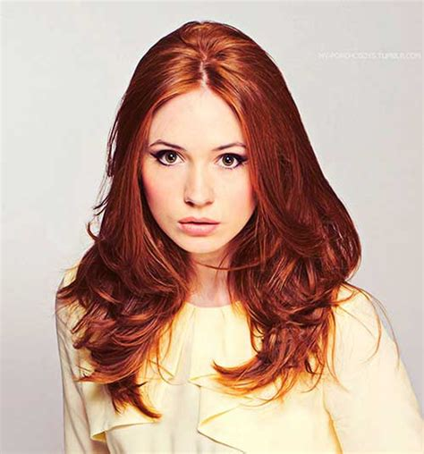 actress with long red hair 12 more red long hairstyles crazyforus