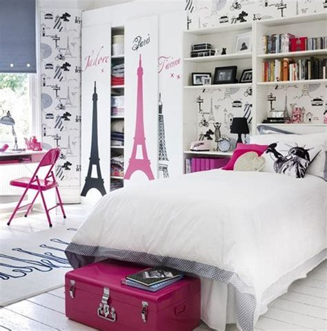 stylish girls bedrooms stylish pink and white bedroom ideas for girl