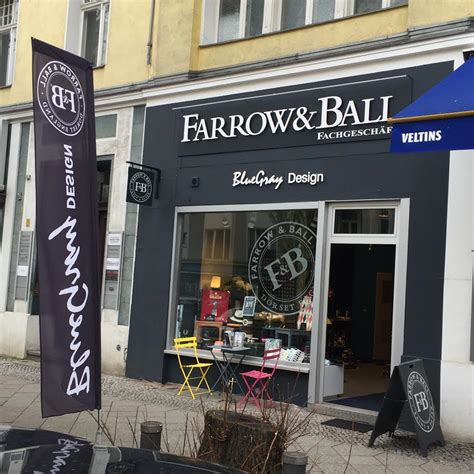 farrow and farben und tapeten in berlin bluegray design - Farrow And Berlin