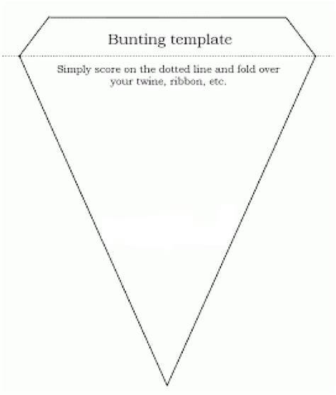 bunting design template how to make easy bunting jugglemum