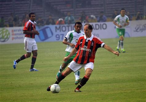 Ac Jakarta italy and ac milan legend franco baressi editorial photo image of football calcio 35479811