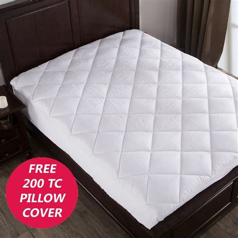 Thick Covers by Luxury Thick Quilted Mattress Protectors Pads Covers