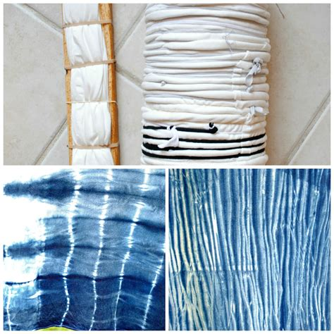 trash to couture diy shibori with indigo