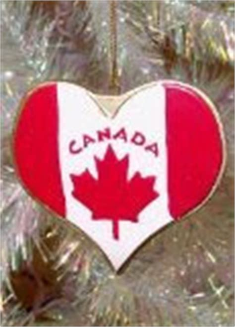 crazy canadian christmas ornaments christmas canada