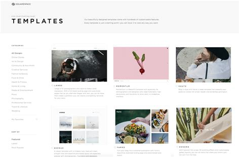 How I Got My Squarespace Site Up And Running In 48 Hours Feature Shoot Squarespace Website Templates